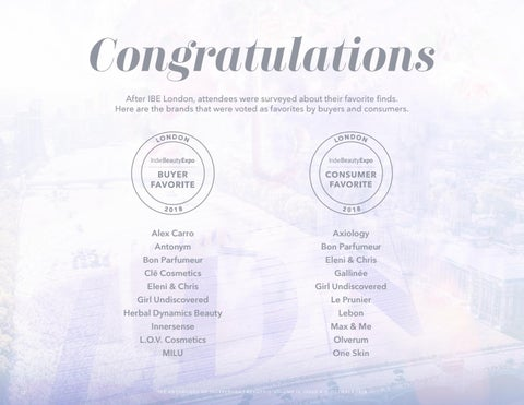 Page 12 of Congratulations to our Buyer and Consumer voted favorites