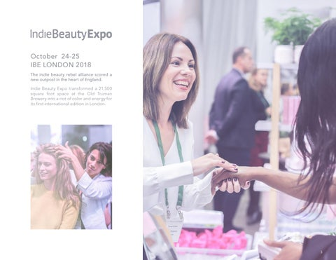 Page 3 of Indie Beauty Expo Launches in Europe