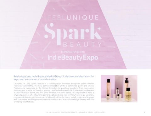 Page 7 of Spark Beauty by Feelunique in partnership with Indie Beauty Expo