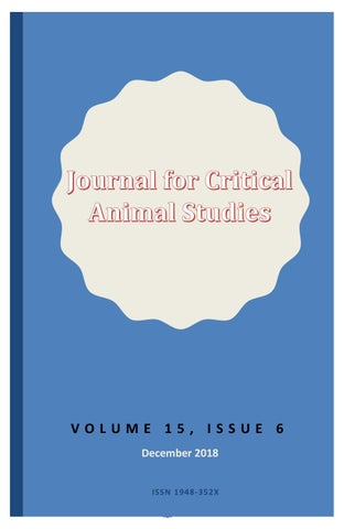 JCAS Volume 15, Issue 6, December 2018 by ICAS Critical