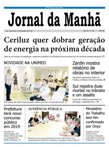 72fc4fcc7fa Jornal da Manhã - Terça-feira - 04-12-2018 by clicjm - issuu
