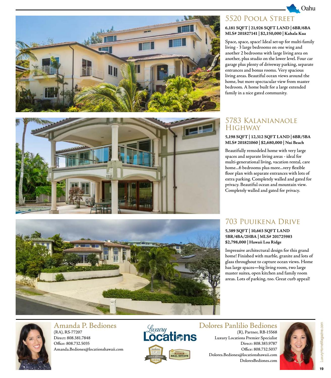 Luxury Home Magazine Hawaii Issue 13 6 by Luxury Home