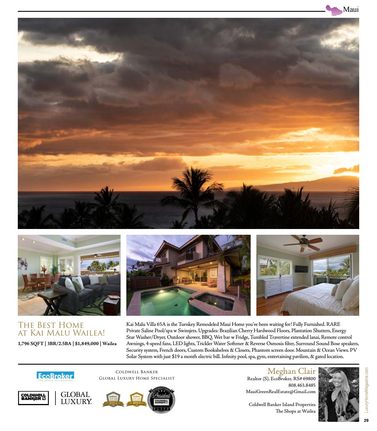 Luxury Home Magazine Hawaii Issue 13.6 By Luxury Home Magazine   Issuu