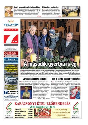 Veszprémi 7 Nap - 2018. 12. 13. by Maraton Lapcsoport Kft. - issuu c25197c02f