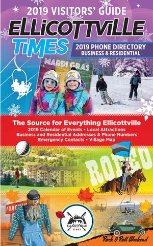 2019 Ellicottville's Visitor's Guide by Ellicottville Times