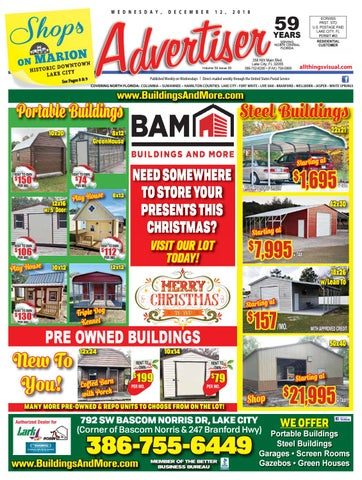 b16a8bc4233 12122018 - Advertiser by North Central Florida Advertiser - issuu