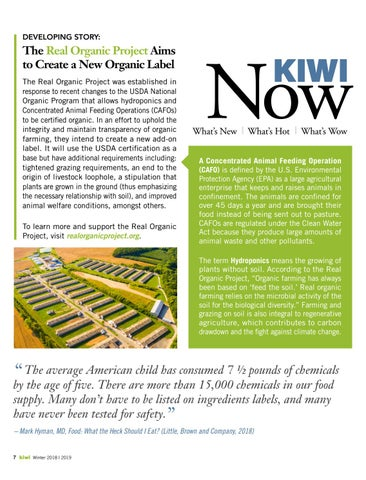 Page 8 of The Real Organic Project Aims to Create a New Organic Label