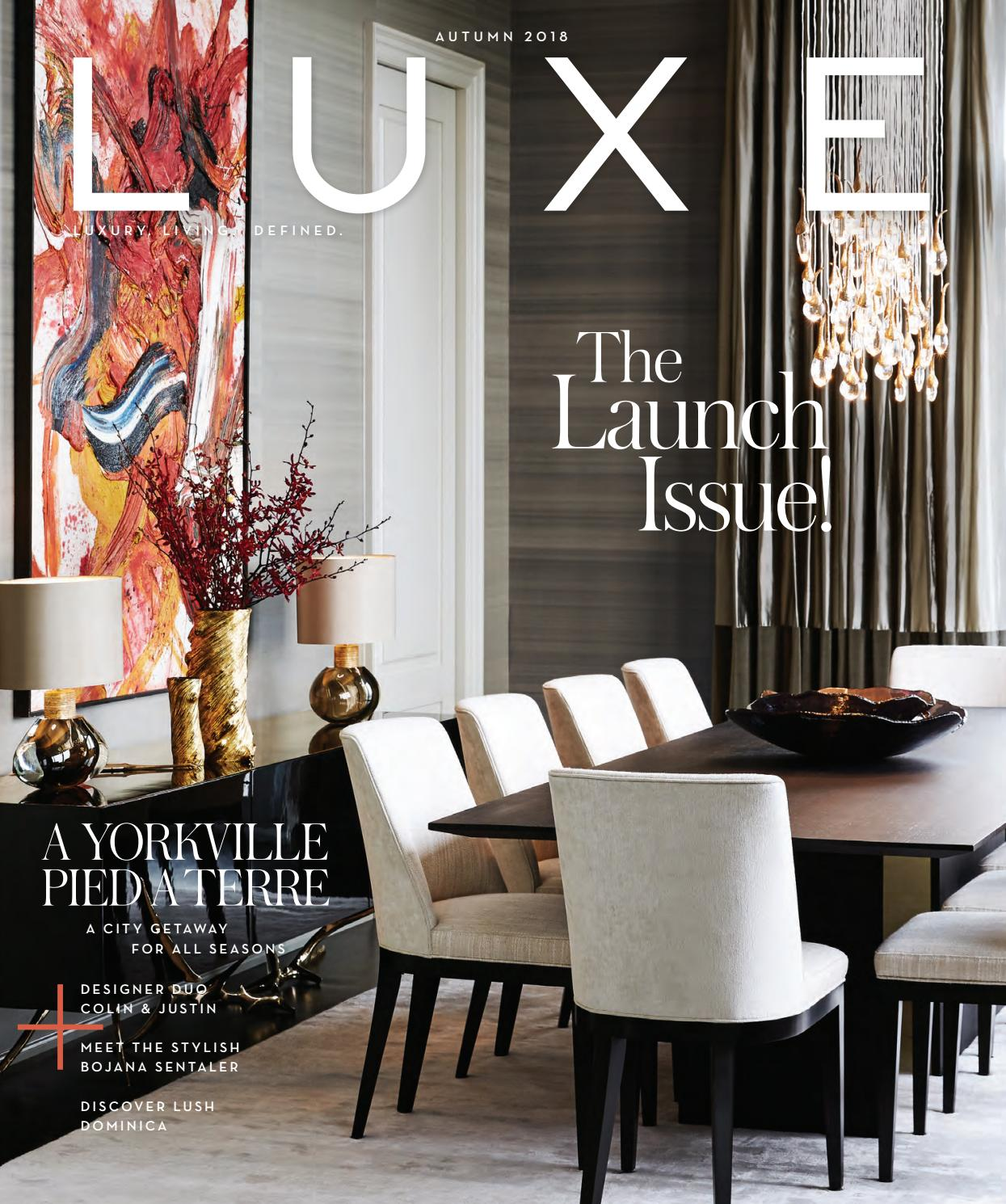 justin timberlake turns interior designer to launch new where can interior designers work LUXE Magazine Canada Autumn 2018 by LUXE Magazine Canada - issuu