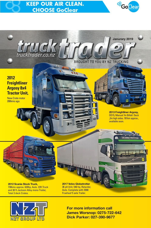 Truck Trader January 2019 by NZTrucking - issuu