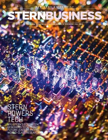 STERNBUSINESS Magazine - Fall 2018 by NYU Stern - issuu