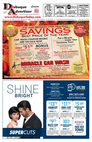 The Dubuque Advertiser December 12 2018 By The Dubuque Advertiser