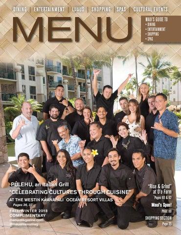 MENU Magazine Fall Winter 2018_2019 Issue