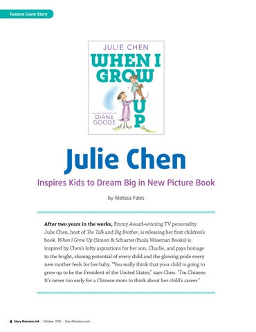 Page 4 of Julie Chen Inspires Kids to Dream Big in New Picture Book