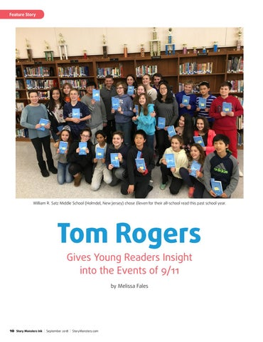 Page 10 of Tom Rogers Gives Young Readers Insight into the Events of 9/11