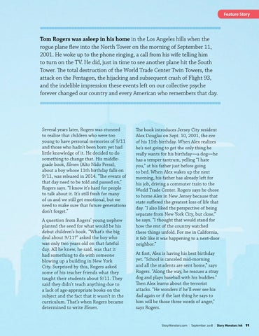 Page 11 of Tom Rogers Gives Young Readers Insight into the Events of 9/11
