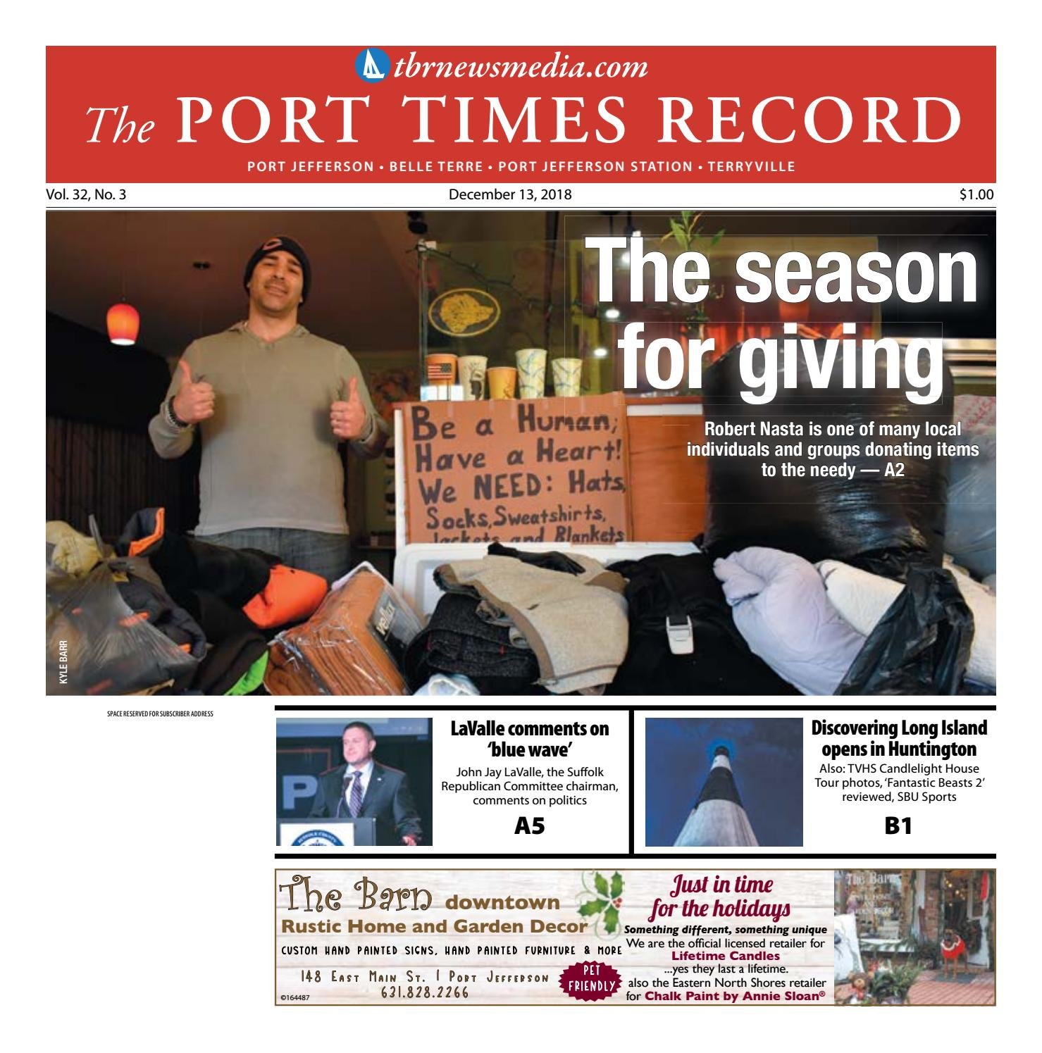 The Port Times Record - December 13, 2018