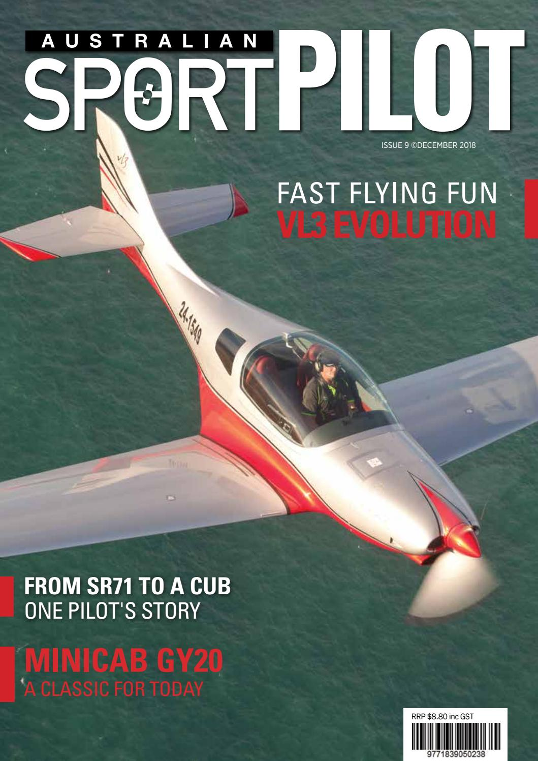 Australian Sport Pilot: Dec 2018 by Recreational Aviation Australia