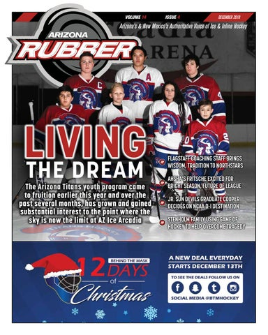 ed08d55a21b Arizona Rubber Magazine - December 2018 by Rubber Hockey Magazines ...