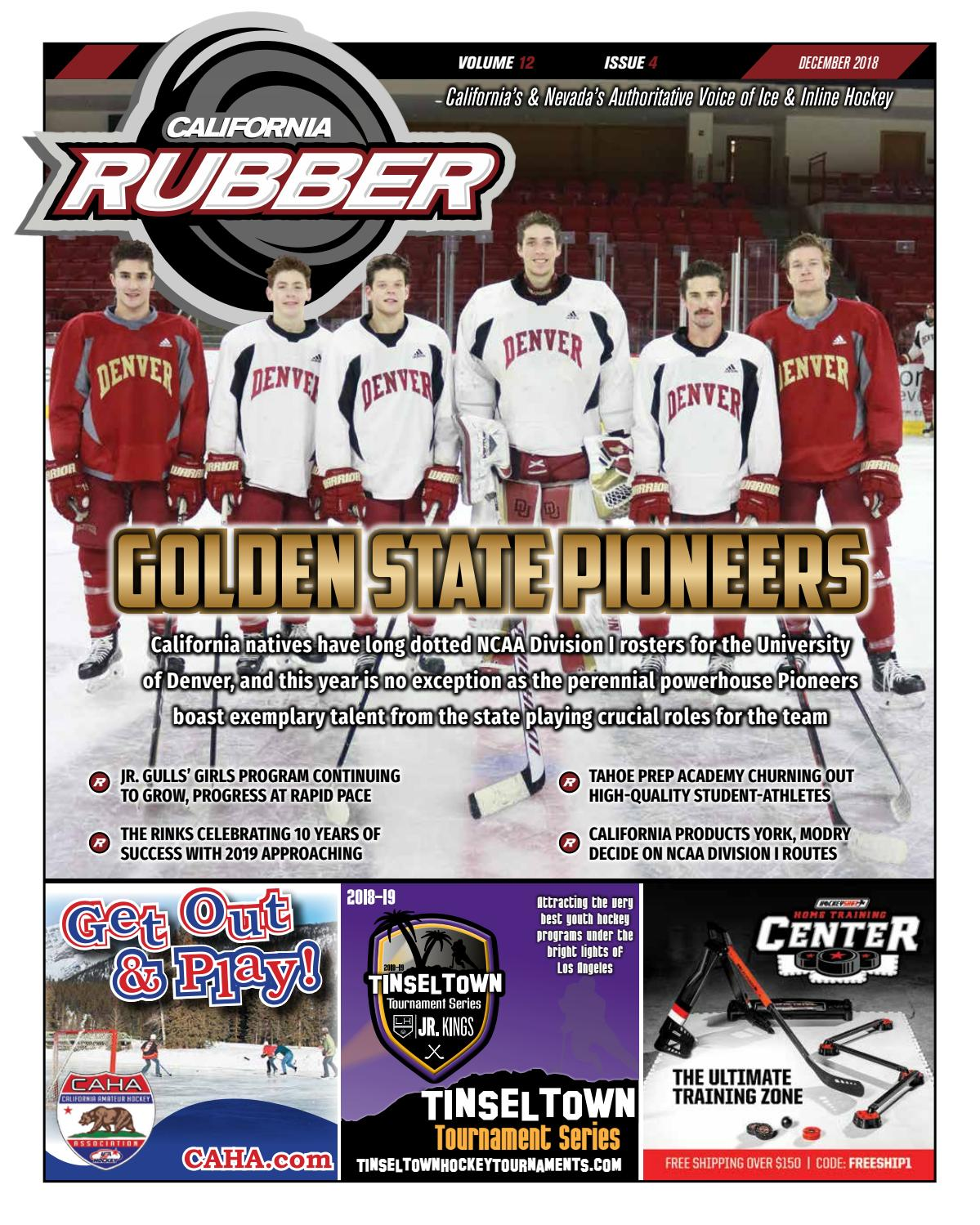 a99d5965839b California Rubber Magazine - December 2018 by Rubber Hockey Magazines -  issuu