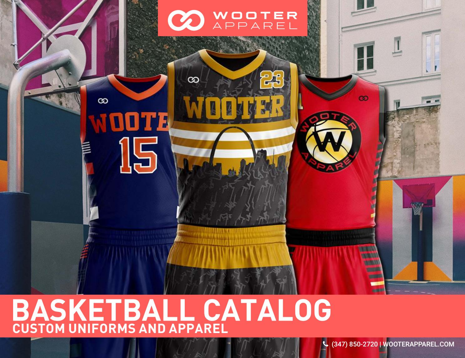 081f2fa7a07 Wooter Apparel - Apparel Design - Basketball Catalog Design by Tyrone  Rieschiek - issuu
