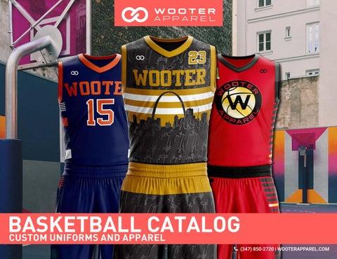 8f7f88e52 Wooter Apparel - Apparel Design - Basketball Catalog Design