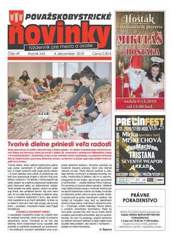 f0f63e139dc9 Považskobystrické novinky č. 49 20158 by Považskobystrické novinky ...