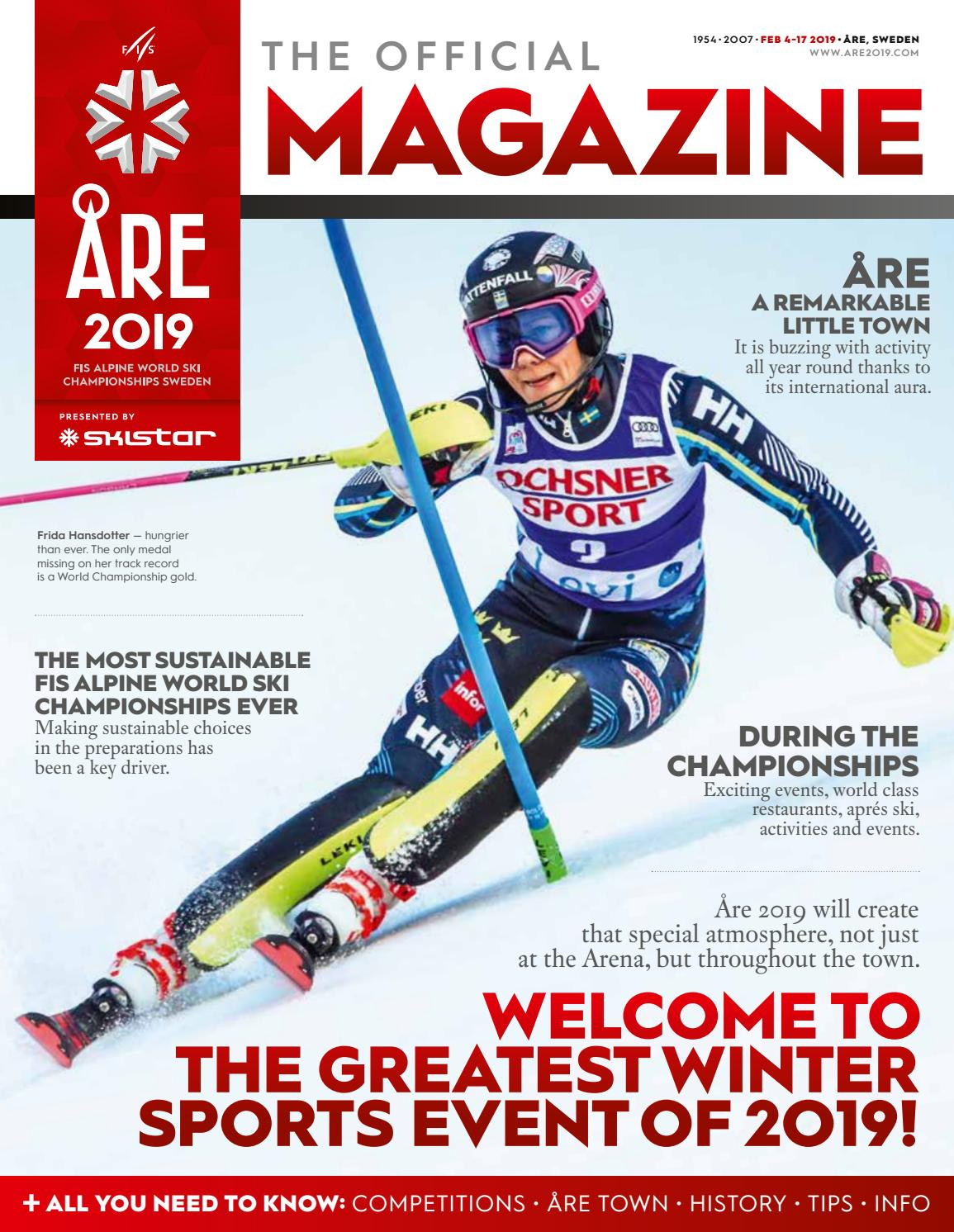 The Official Magazine Are 2019 By Are 2019 Issuu