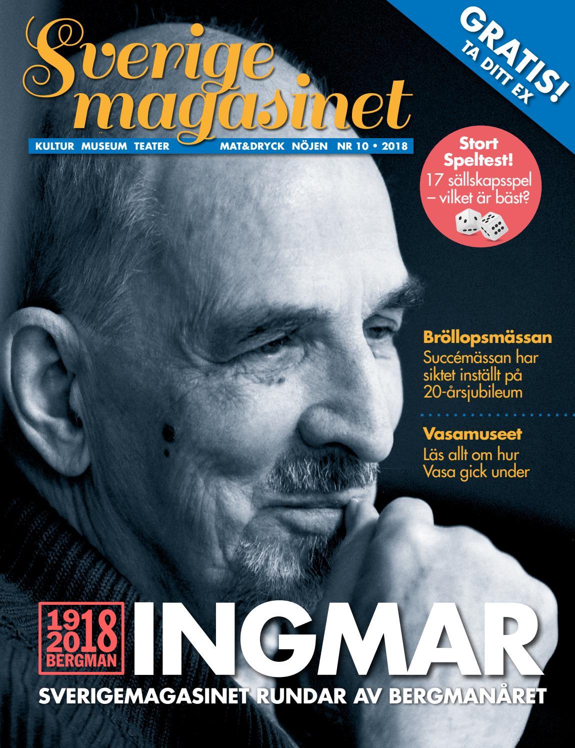 Sverigemagasinet nummer 10 2018 by Sverigemagasinet - issuu 22cf401495254
