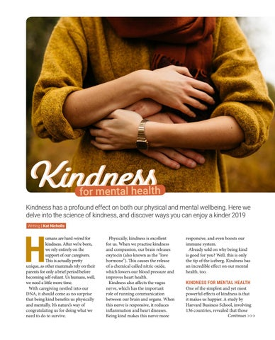 Page 27 of Kindness for Mental Health