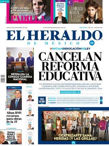 13 de diciembre de 2018 by El Heraldo de México - issuu 314ded97cc1