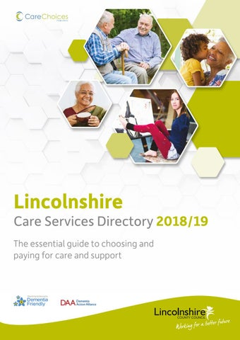 Lincolnshire Care Services Directory 2018-2019 by Care Choices Ltd