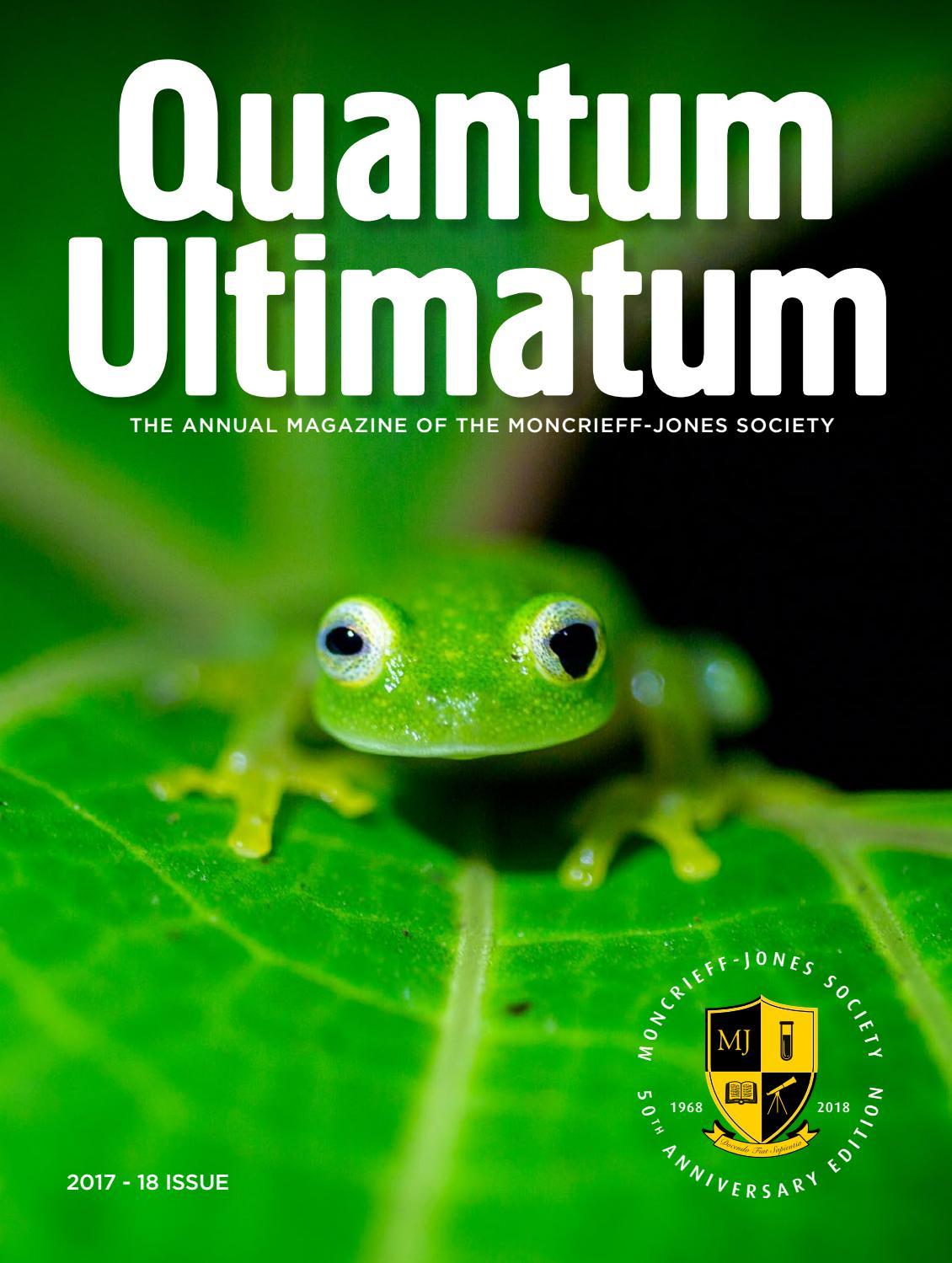 Quantum Ultimatum by Caterham School - issuu