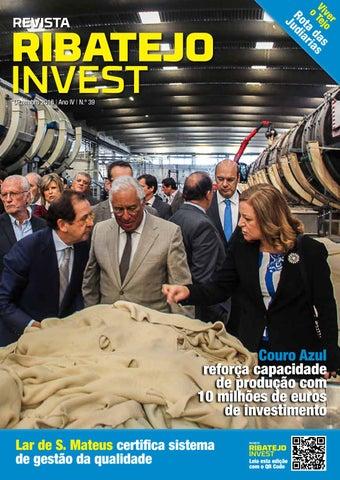 1132f7fb281 Ribatejo Invest   Dezembro 2018 by NERSANT Associação Empresarial ...