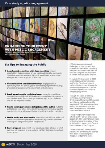 Page 10 of Enhancing your event with public engagement