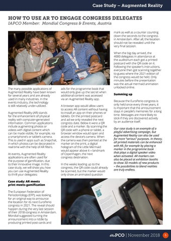 Page 5 of How to use AR to engage congress delegates