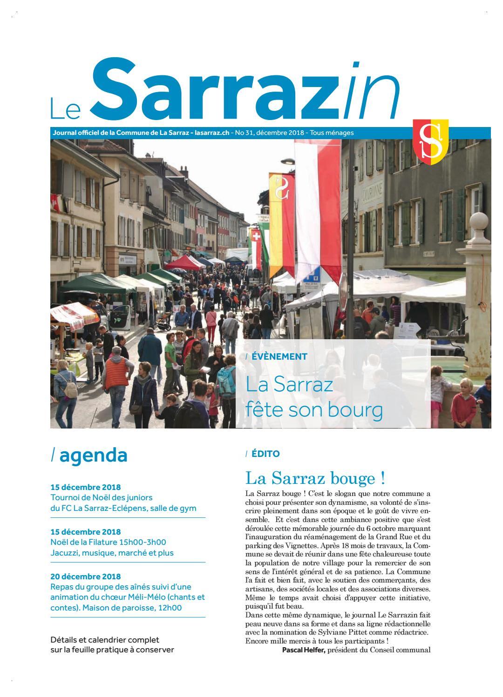 Le Sarrazin No 31 By Le Sarrazin Journal Communal Issuu