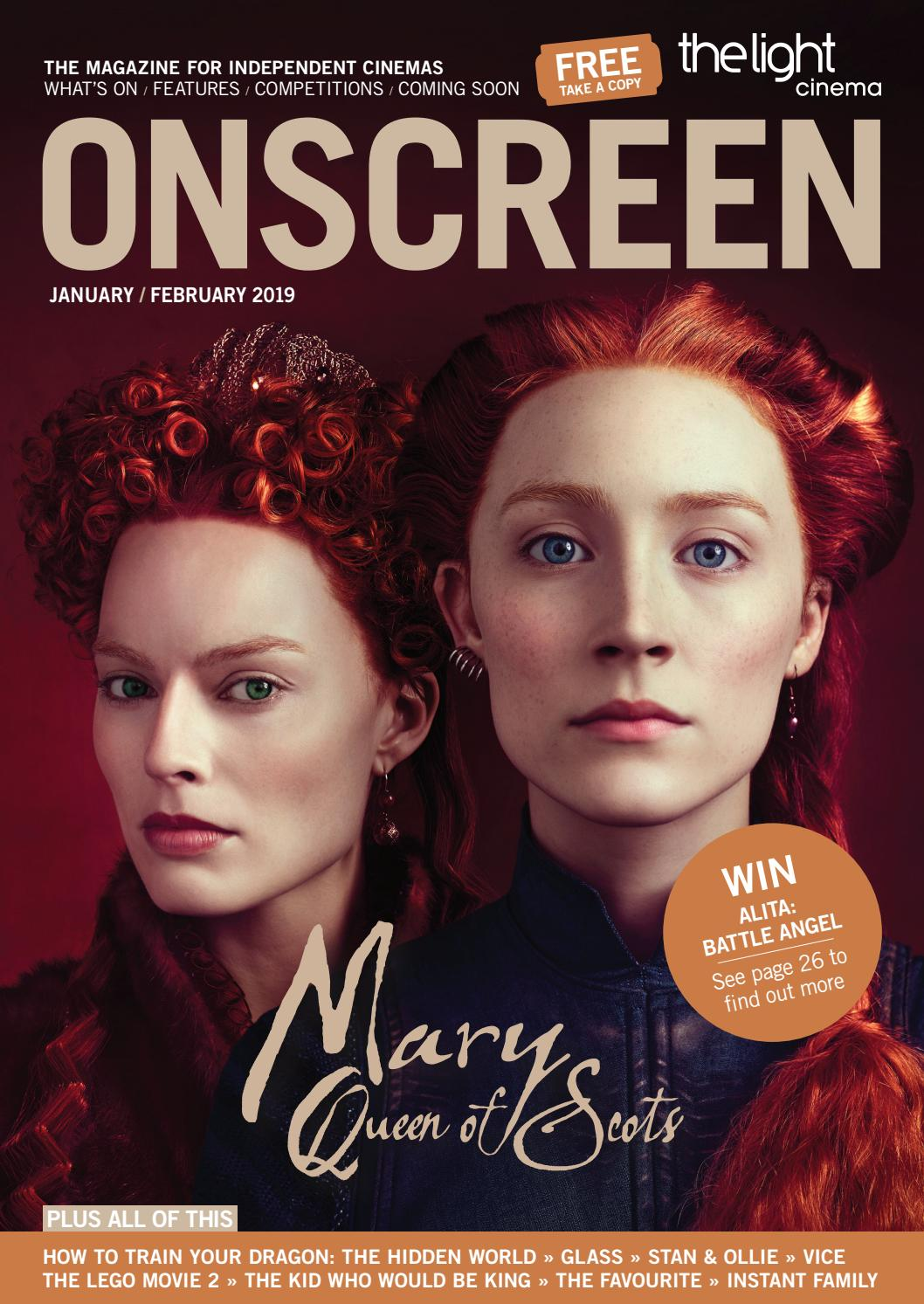 Onscreen Magazine Januaryfebruary 2019 By Onscreen Magazine