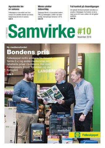 a1c734c4 Samvirke 10 2018 by Felleskjøpet Agri - issuu