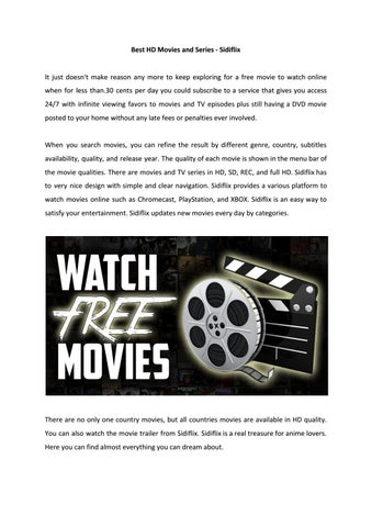 Best HD Movies by markgordon971 - issuu