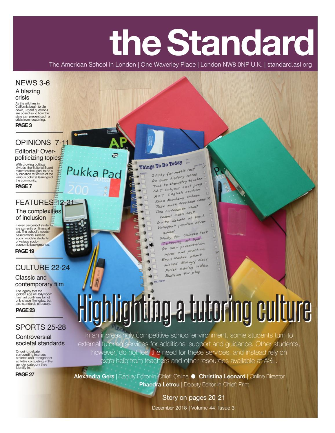 The Standard Issue 3 2018 19 By The Standard Issuu