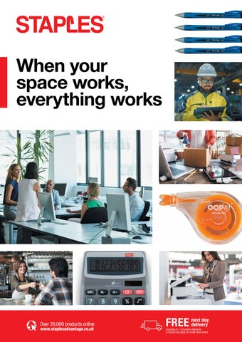 When your space works, everything works by Staples - issuu