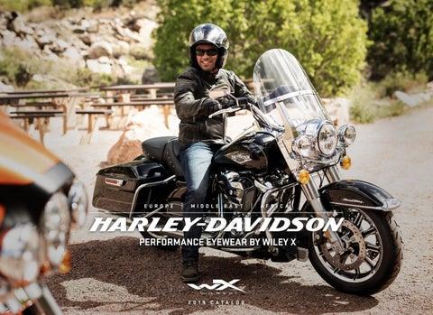 63b84e24567 HARLEY-DAVIDSON® PERFORMANCE EYEWEAR BY WILEY X 2019 by Wiley X EMEA ...