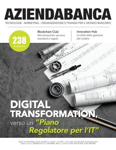 4de168a973 AZIENDABANCA TECNOLOGIE - MARKETING - ORGANIZZAZIONE E FINANZA PER IL MONDO  BANCARIO