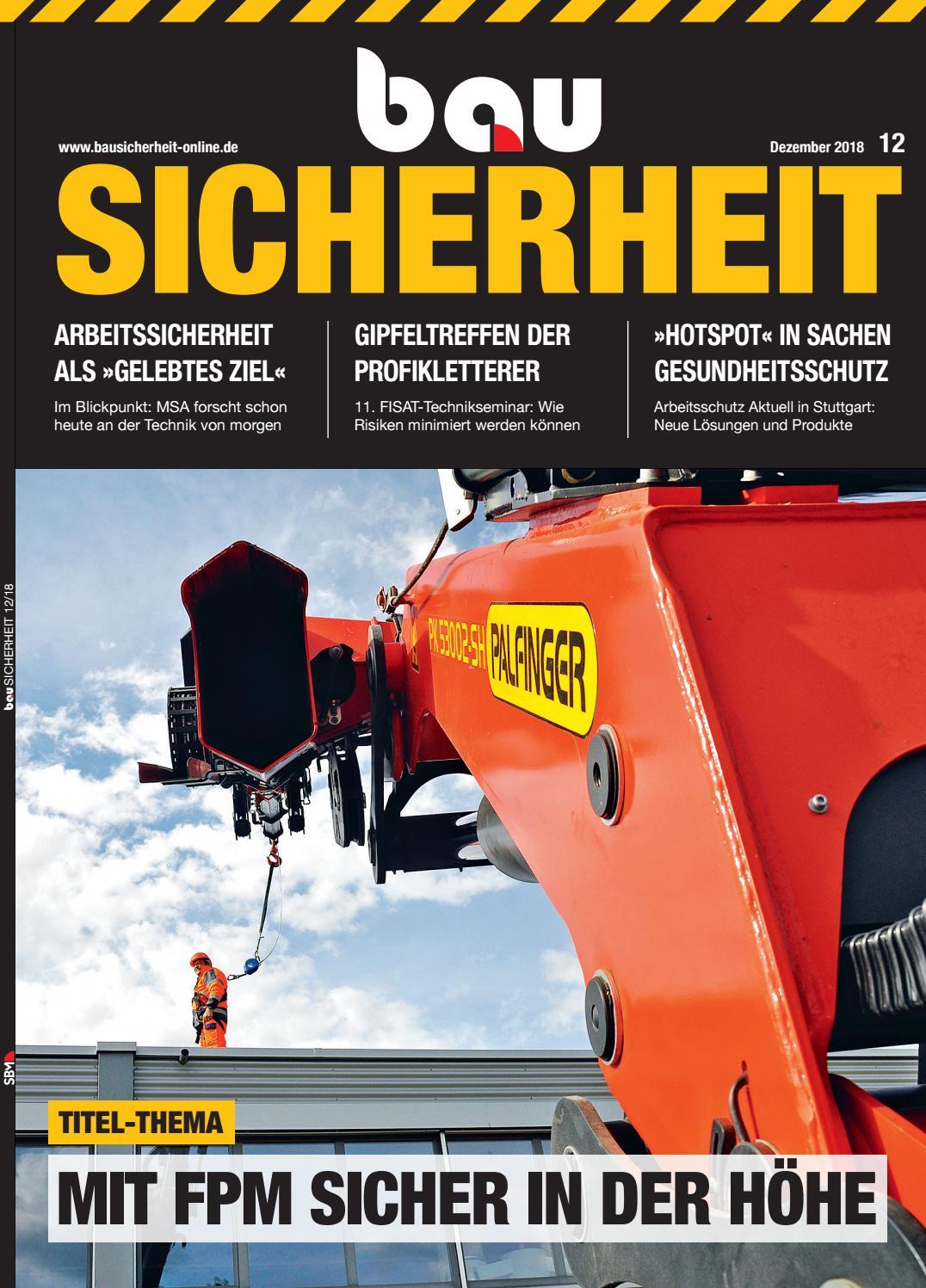 bausicherheit dezember 2018 by sbm verlag gmbh issuu  Neue Olaf Benz 3000 Red Ausgefallene Unterwsche Herren Online P 1911 #11