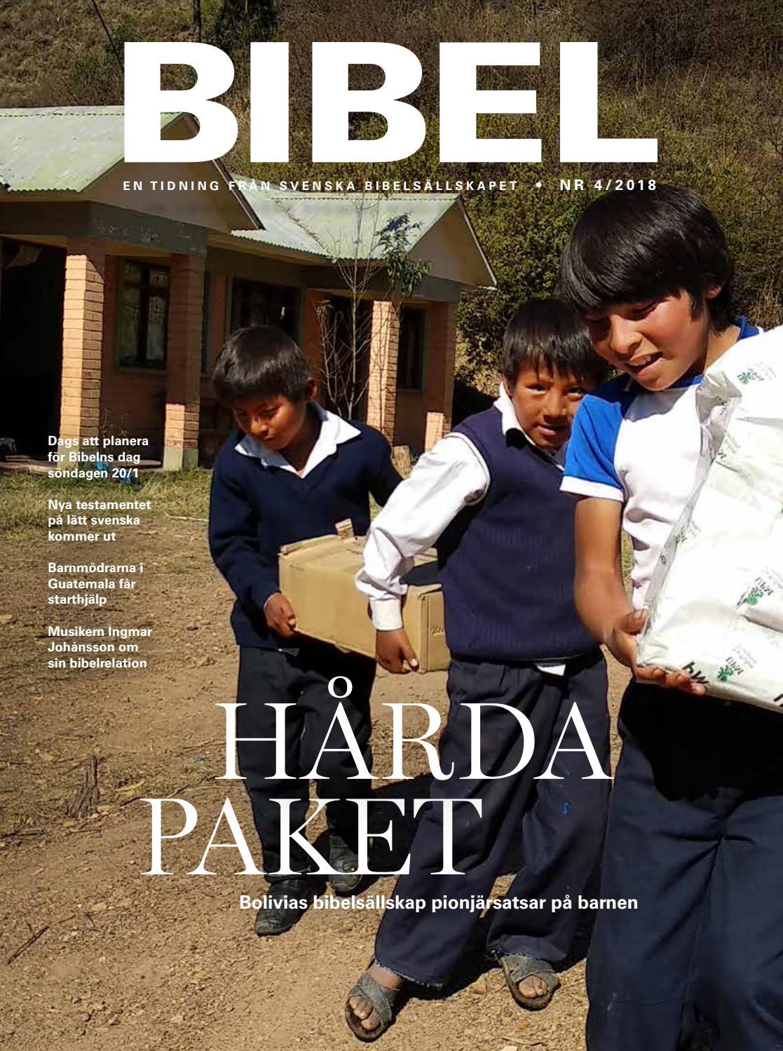 51eea1020d99 Tidningen BIBEL nr 4 2018 by Olof Brandt - issuu