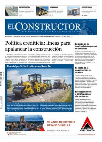dddd7e858 El Constructor 3 12 2018 - N° 5103 Año 118 by ELCO Editores - issuu