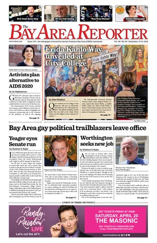 December 13 2018 Edition Of The Bay Area Reporter By Bay Area