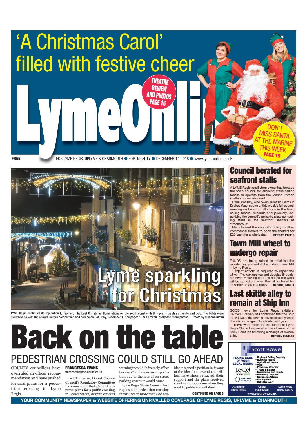 9ac427aa LymeOnline Digital Edition - December 14 2018 by LymeOnline - issuu