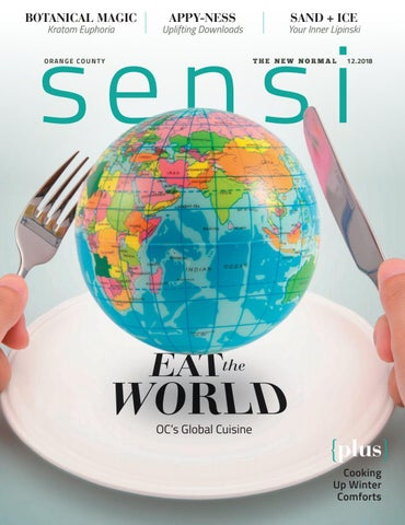 Sensi Magazine - Orange County (December 2018) by Sensi Media Group