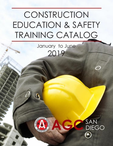 AGC San Diego Education Catalog January to June 2019 by AGC